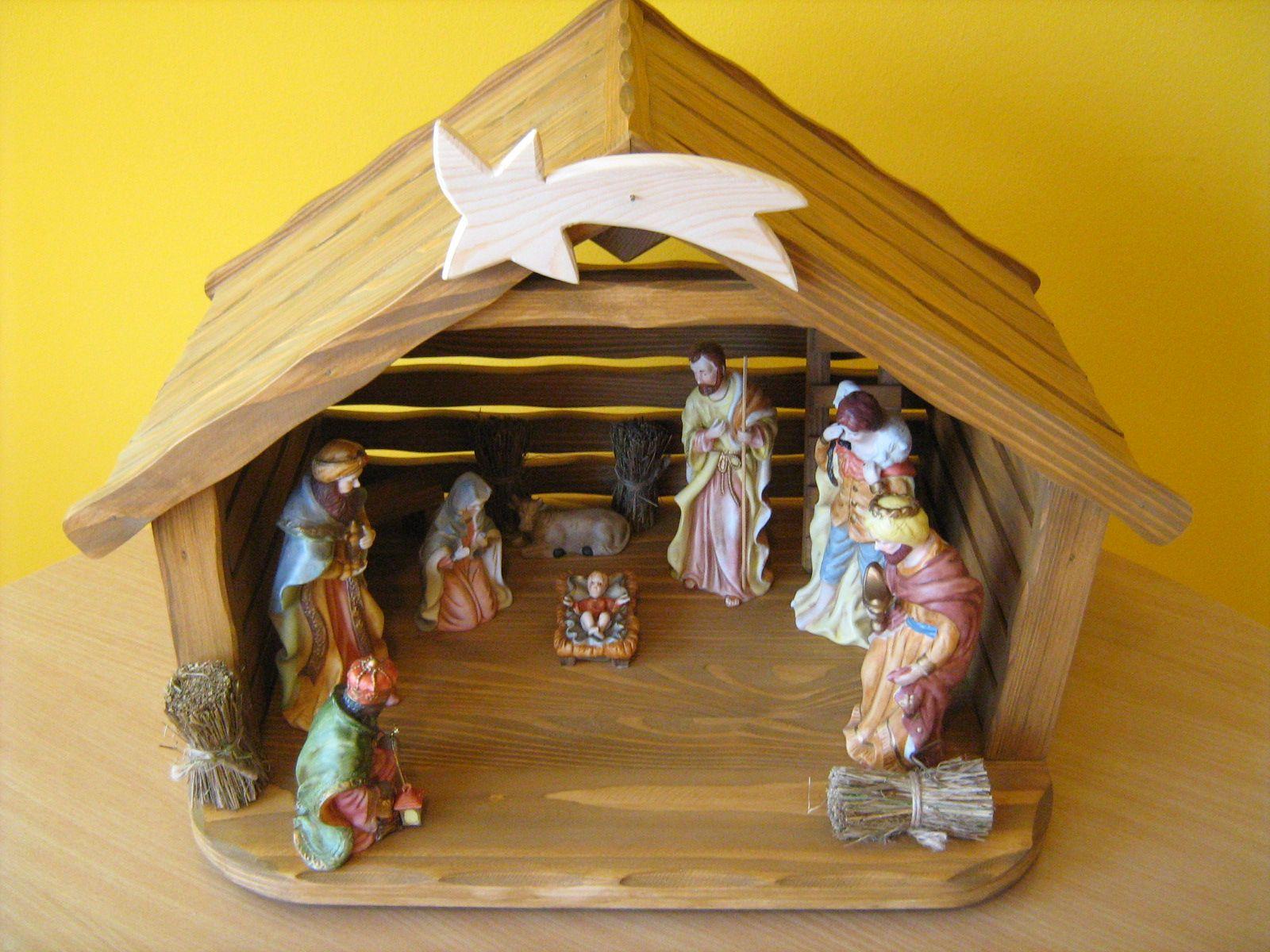 Szopka Bozonarodzeniowa Do Figurek Do 20 Cm 6593158206 Oficjalne Archiwum Allegro Cuckoo Clock Clock Christmas