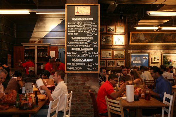 barbecue restaurant interior design | Hill Country Barbecue review ...