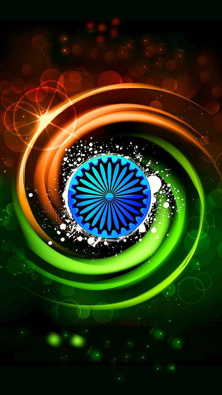 india flag colour wallpaper by shubh8585 - fa - Free on ZEDGE™