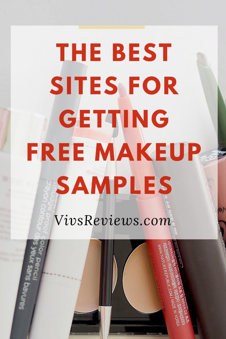 How to Get Free Makeup Online Get free makeup, Free