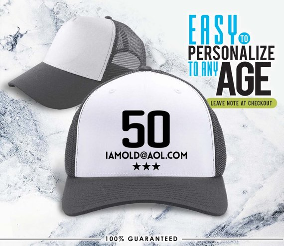 Old 50 1968 50th Birthday Gifts Idea Hat