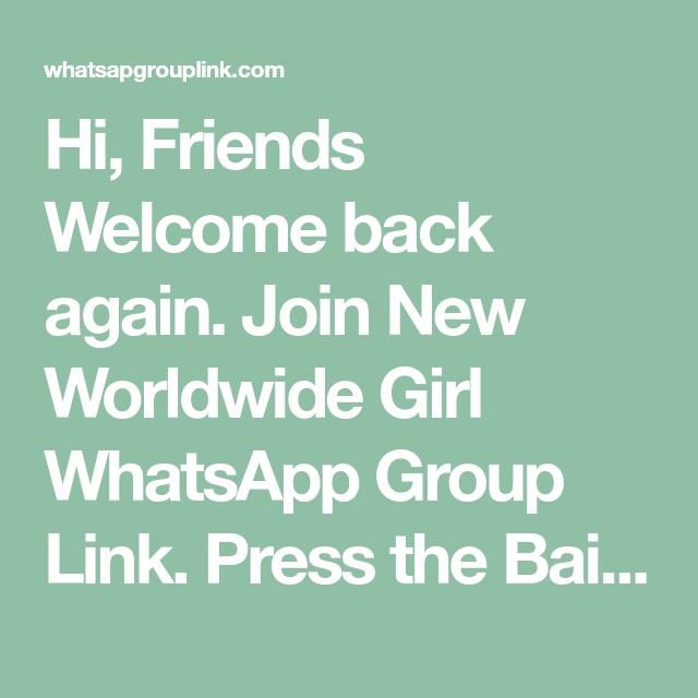 Girl Whatsapp Group Link Join Girl Whatsapp Groups Whatsapp Group I Need Friends Girl Group