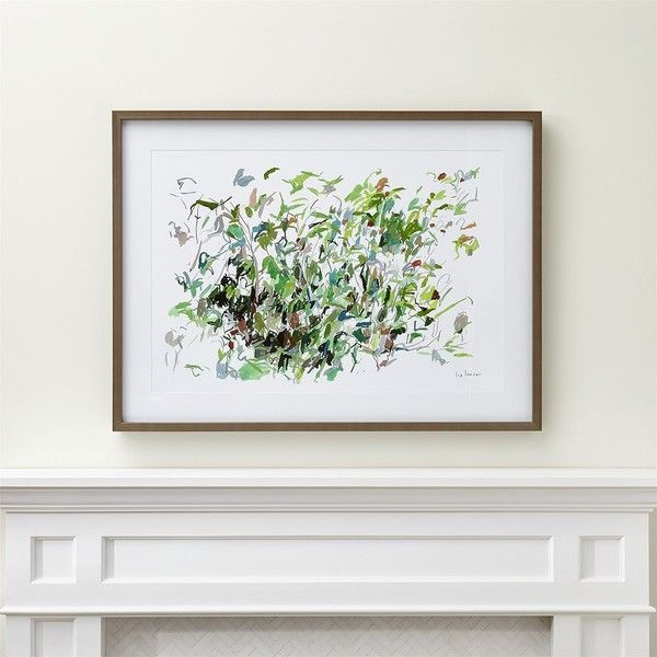 Crate & Barrel Beachrose and Sumac Print ($550) ❤ liked on Polyvore featuring home, home decor, wall art, water color painting, beach paintings, watercolor painting, motivational wall art and beach scene wall art