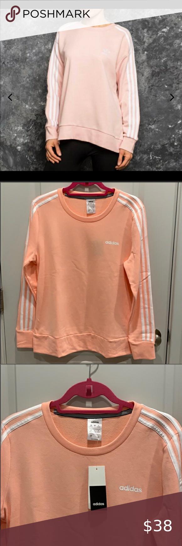 Adidas Crewneck Sweatshirt Sweatshirts Clothes Design Crew Neck Sweatshirt [ 1740 x 580 Pixel ]