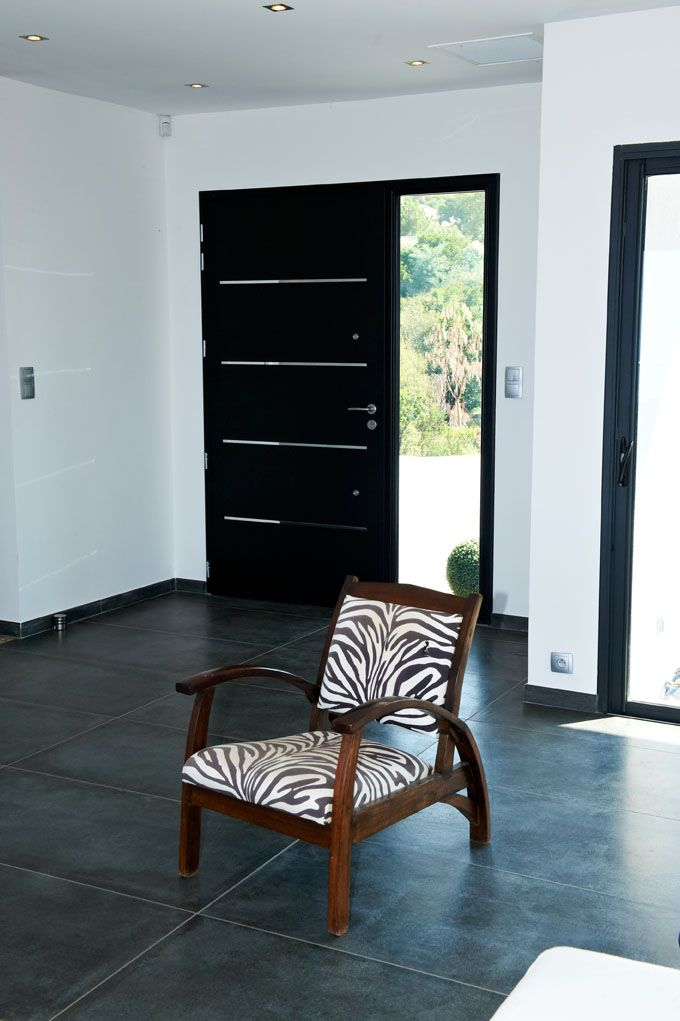porte d 39 entr e aluminium cotim 11 par zilten porte. Black Bedroom Furniture Sets. Home Design Ideas