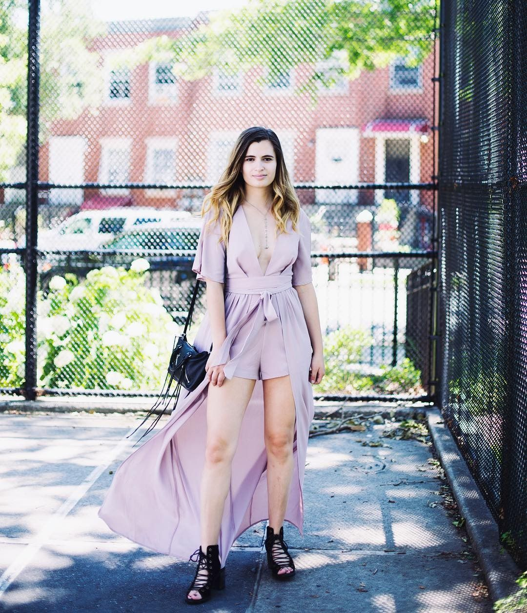 f66a27d83bf9 Beat the heat with this romper-turned-jumpsuit hybrid that s SO ready for a  rooftop cocktails.