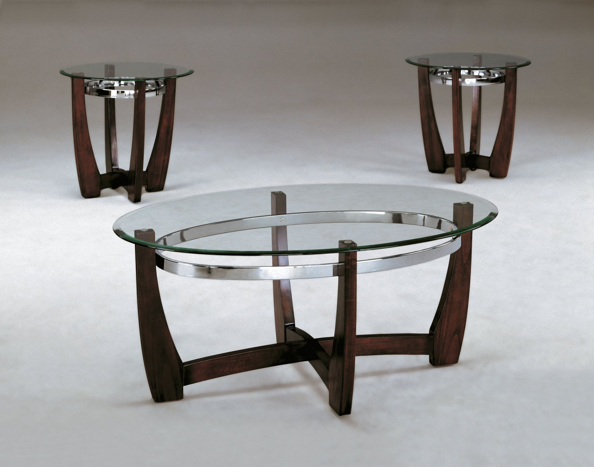 4272 Crown Mark Mitchell Coffee And End Table Set Discontinued Glass Coffee Table Decor Coffee Table Glass Top Table