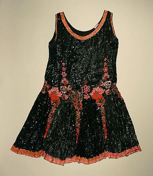 Evening Dress - French   c.1926  -  The Metropolitan Museum Of Art