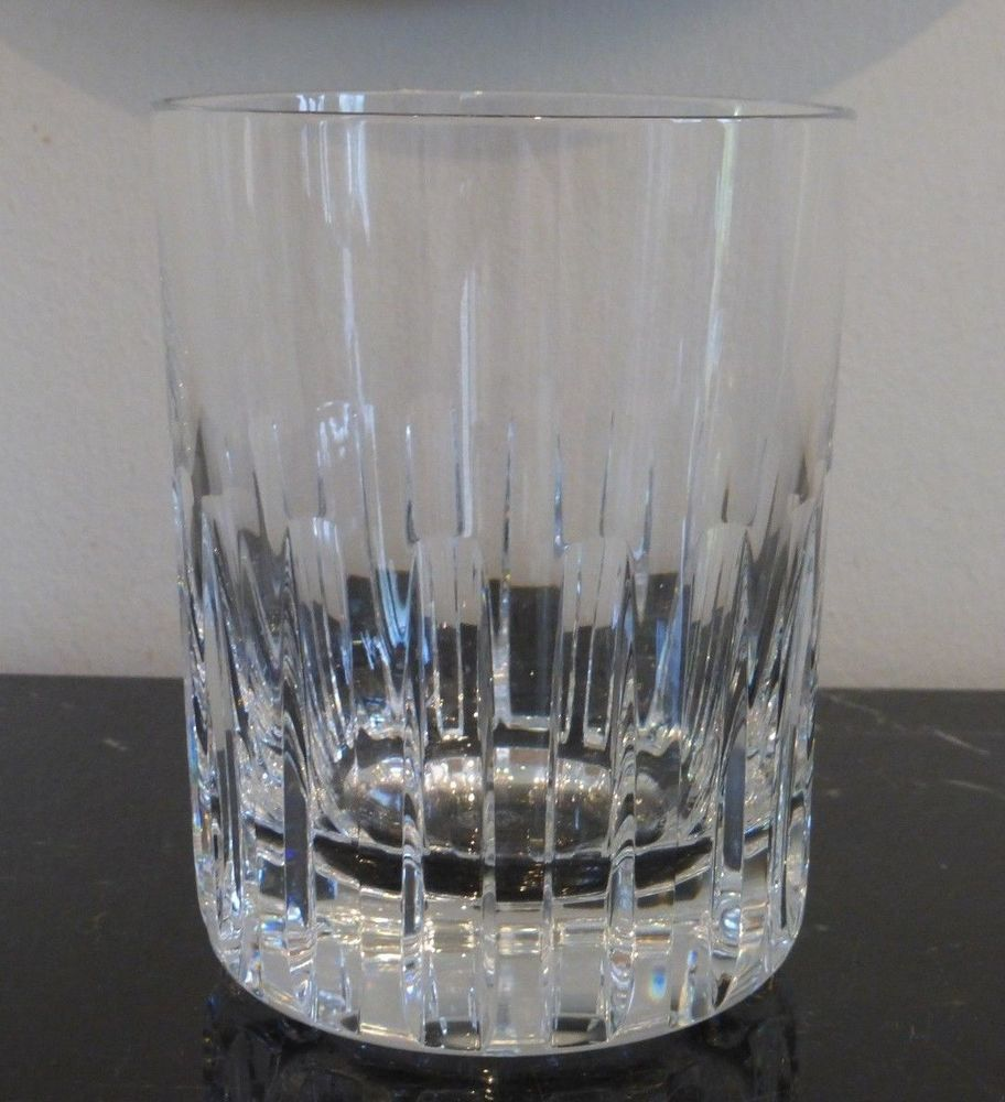 Baccarat Crystal Rotary Double Old Fashioned Glass 4 5 8 X 3 5 8 Tumbler Baccarat Baccarat Crystal Old Fashioned Glass Baccarat