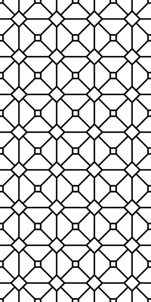 Seamless Monochrome Grid Pattern White Pattern Background Geometric Patterns Drawing Monochrome Pattern
