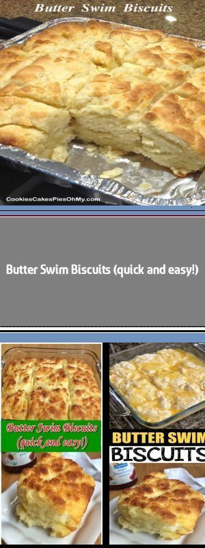 Butter Swim Biscuits (quick and easy!) This simple homemade recipe is TO DIE FOR! The butter makes these biscuits soft and moist on the inside, with a flaky crust on the outside.... #butterswimbiscuits Butter Swim Biscuits (quick and easy!) This simple homemade recipe is TO DIE FOR! The butter makes these biscuits soft and moist on the inside, with a flaky crust on the outside.... #butterswimbiscuits Butter Swim Biscuits (quick and easy!) This simple homemade recipe is TO DIE FOR! The butter mak #butterswimbiscuits