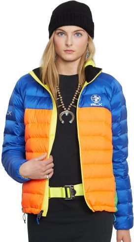 Ralph Lauren RLX Color-Blocked Down Jacket