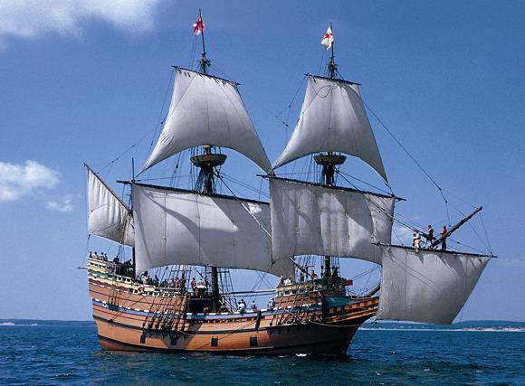Mayflower Pilgrims Ship Posted In International