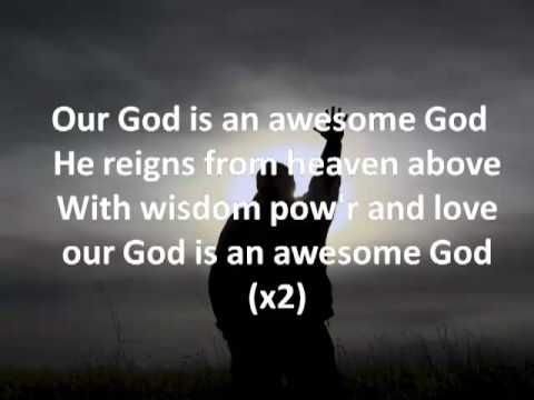Awesome God By Michael W Smith Lyrics Youtube Praise