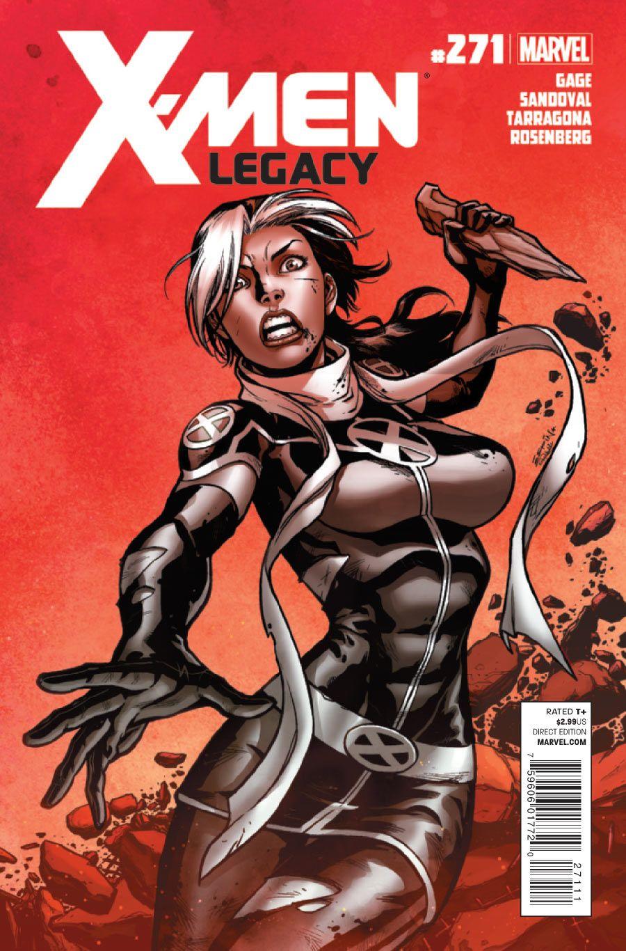 X Men Legacy Vol 1 271 Comics Marvel Rogue Female Comic Characters
