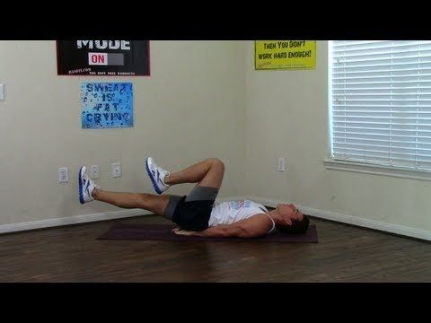 3 min beginner core workout  hasfit easy core exercises