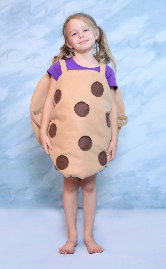 Chocolate Chip Cookie Costume Child s 12 as seen by LauriesGift $36.00  sc 1 st  Pinterest & Cute! Chocolate Chip Cookie Costume Child s 12 as seen by ...