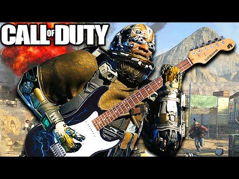 Epic Guitar Player on Call of Duty! (Funny Moments
