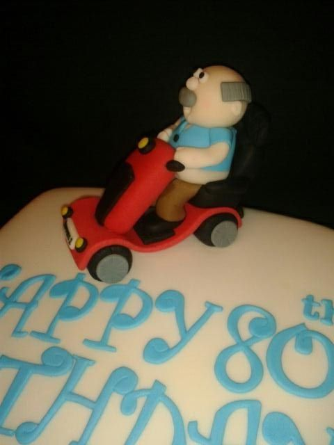 Old Man cake topper Fondant Pinterest Man cake Cake and 70th
