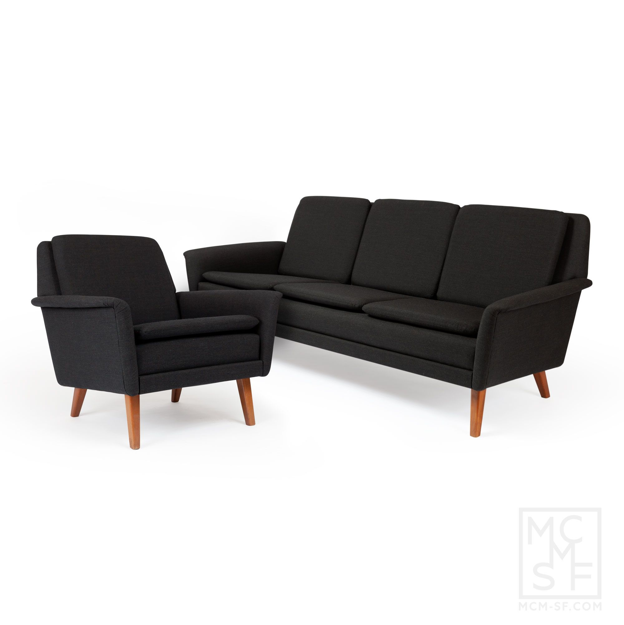 Sofa And Lounge Chair Designed By Folke Ohlsson Manufactured Dux Of Sweden In The 1960s Set Has Been Imported From Denmark Recently