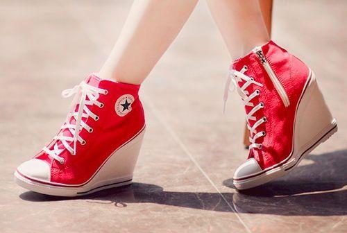 Sneaker heels, Converse heels