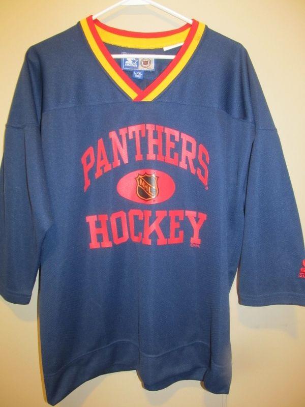 e4b4c979c Vintage John Vanbiesbrouck Florida Panthers Practice Jersey