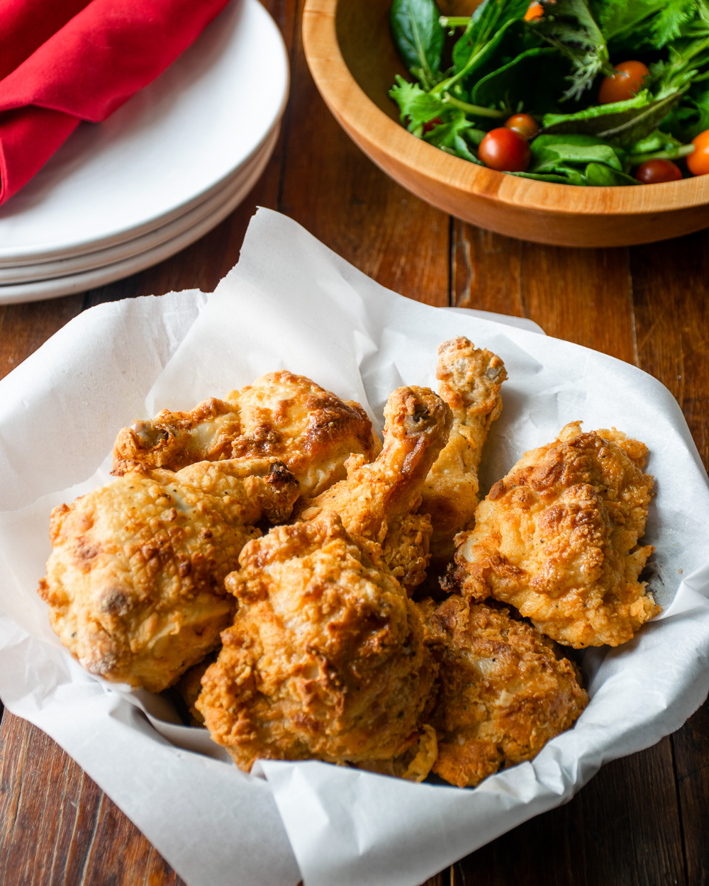 Air Fryer Fried Chicken Blue Jean Chef Meredith Laurence Recipe In 2020 Chicken Eating Air Fryer Recipes Fried Chicken