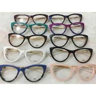0722aec58 Armação De Óculos De Grau Gatinho C/ Pérola Haste C/ Brinde - R$ 120 ...
