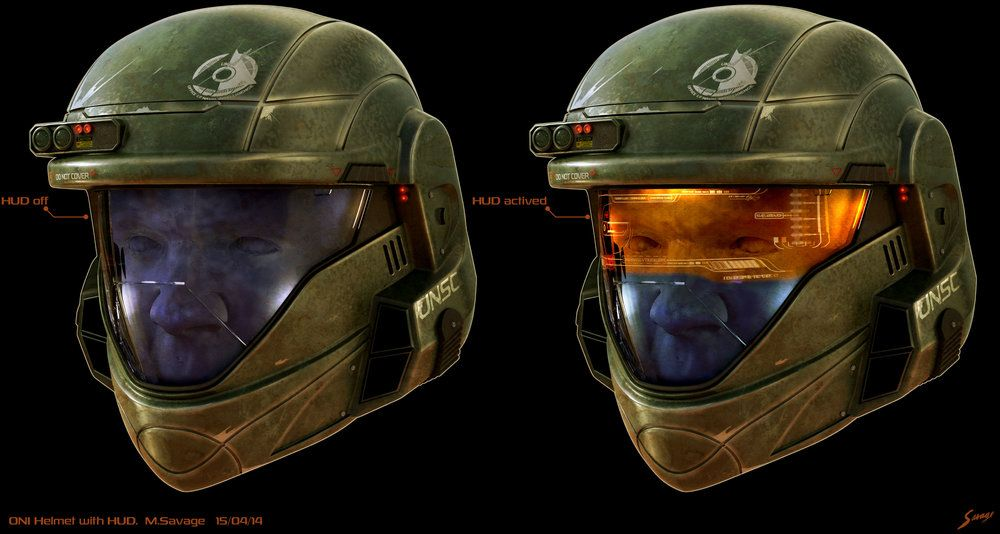 Halo Nightfall Environment Painting Halo Concept