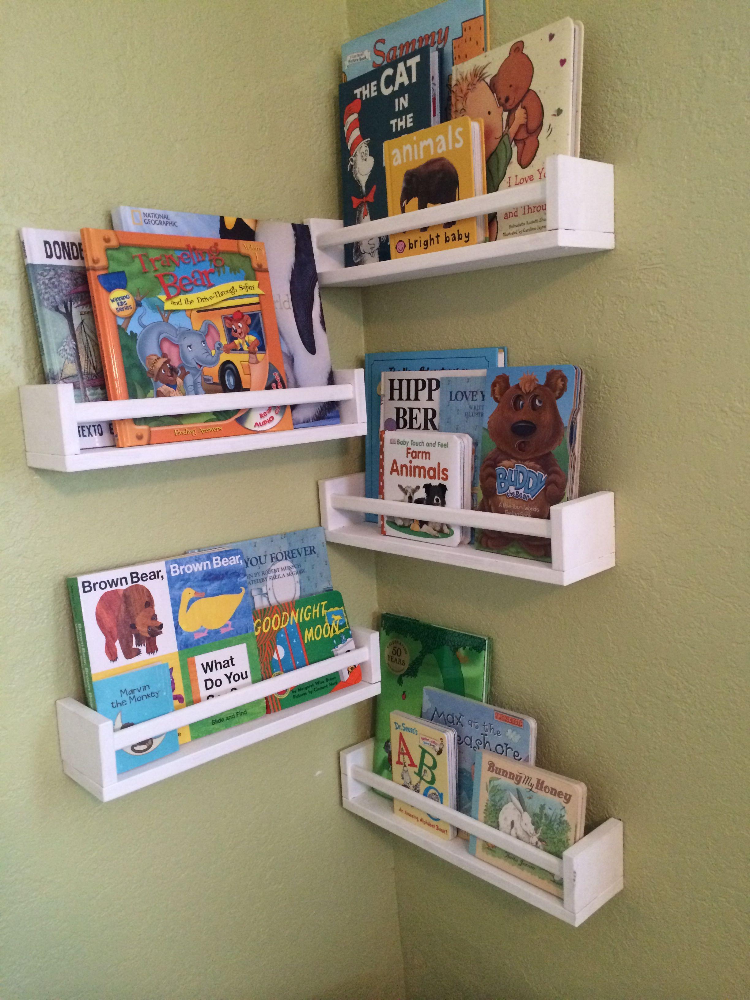 Remarkable Ikea Spice Racks As Bookshelves In Nursery Diy Nursery Download Free Architecture Designs Scobabritishbridgeorg