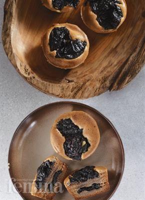 Lapis Legit Ketan Hitam Kue Camilan Resep Makanan Kue