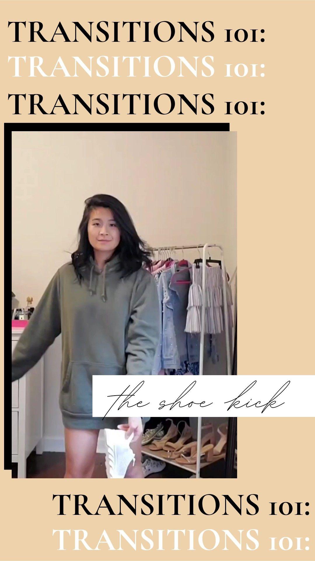 How To Do The Show Kick Transition On Tiktok Instagram Reels Social Media Tips Instagram Tips Blog Social Media