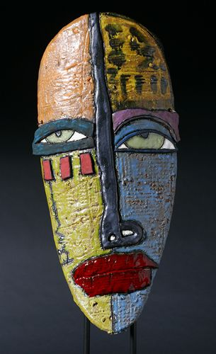 Kimmy Cantrell Masks : kimmy, cantrell, masks, Kimmy, Cantrell, Ceramic, Mask,