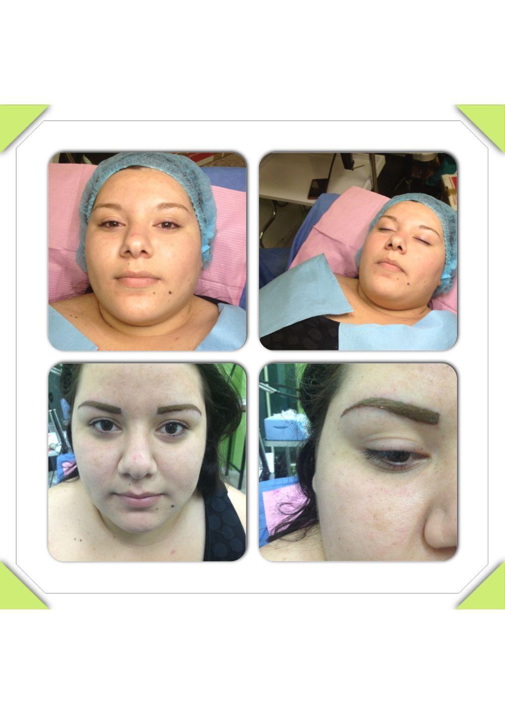 Micropigmentacion ceja#marco de la cara | My work | Pinterest