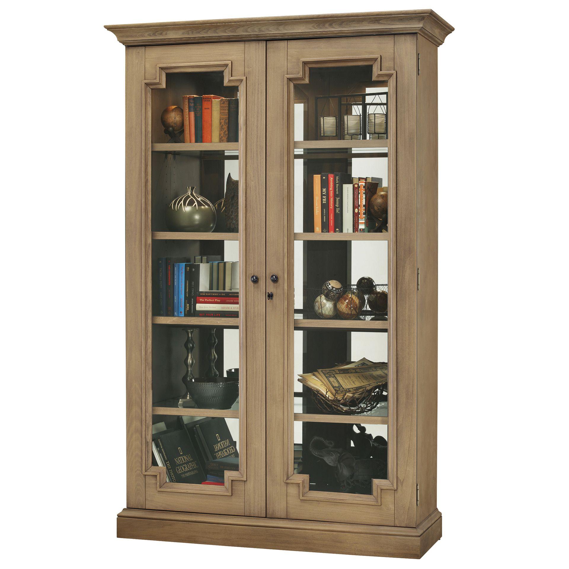 Desmond Iv Curio Cabinet Howard Miller Furniture Home Gallery S