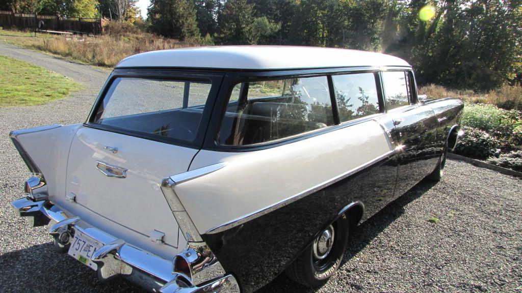 1957 Chevy Bel Air 150 Handyman Panel Wagon Rare Tail Expert Chevy Bel Air Chevy 1957 Chevy Bel Air