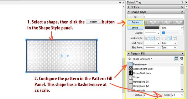 Layout Pattern Fill Hatching With Sketchup Pro 2013 With The