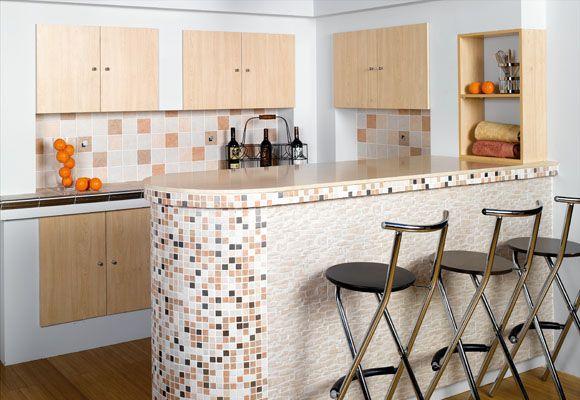 Estilo cocina americana dise o interior y decoraci n - Barras americanas para cocinas ...