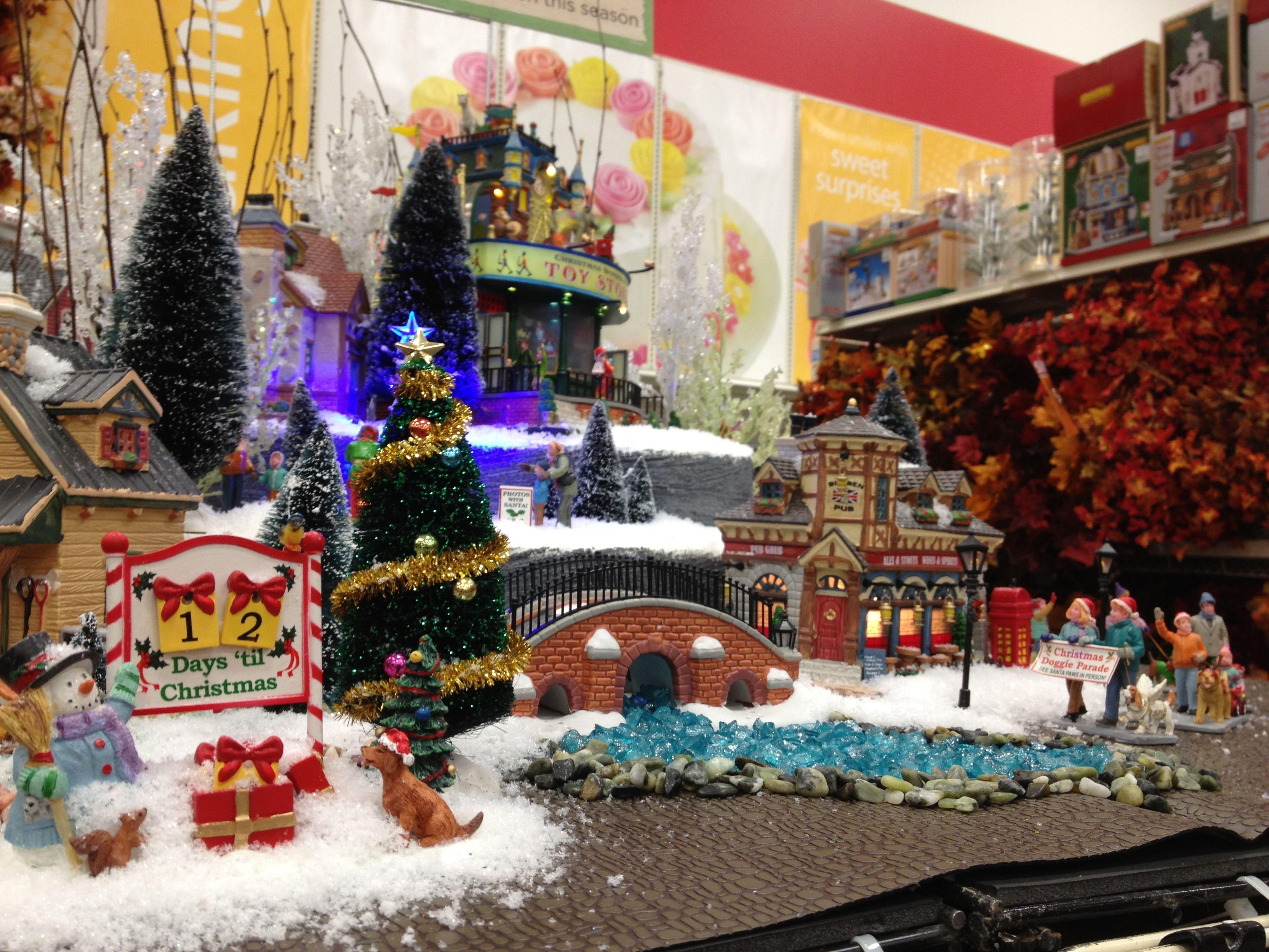 Christmas Lemax Display 2012