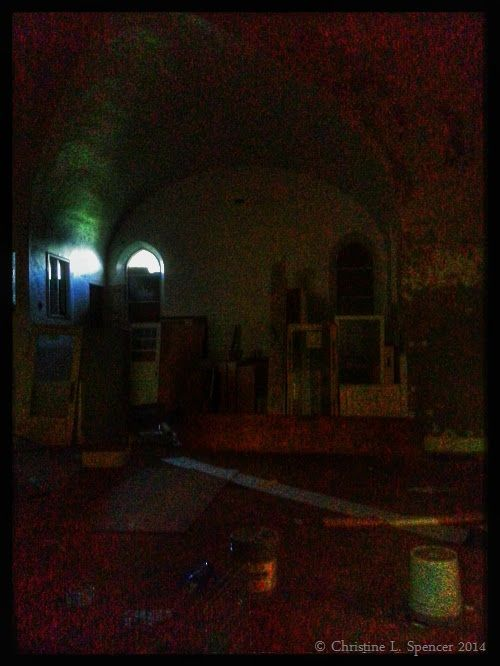 Abandoned Church In Rochester, NY // © 2014 Christine L. Spencer