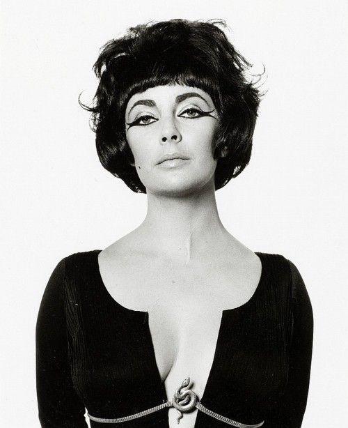 Liz Taylor by Bert Stern