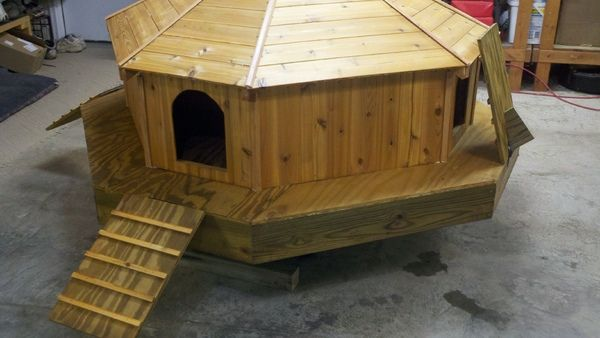 diy floating duck palace.. | diy | pinterest | palace, duck house