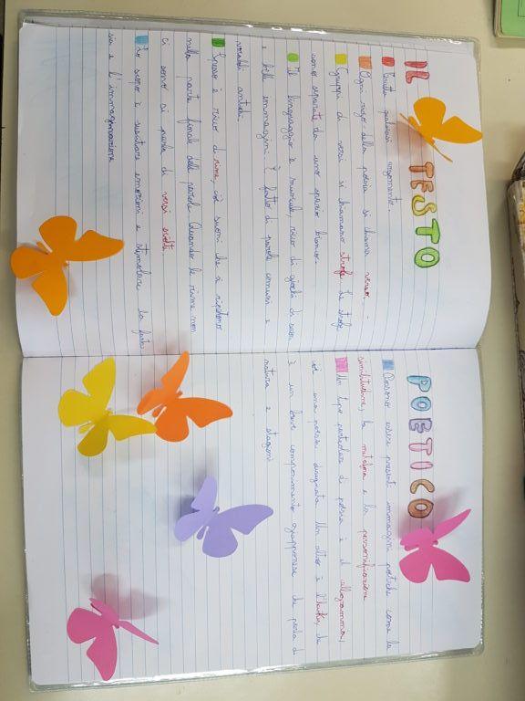 Classe 4a diario di bordo maestra carmelina poesie for Maestra carmelina classe seconda