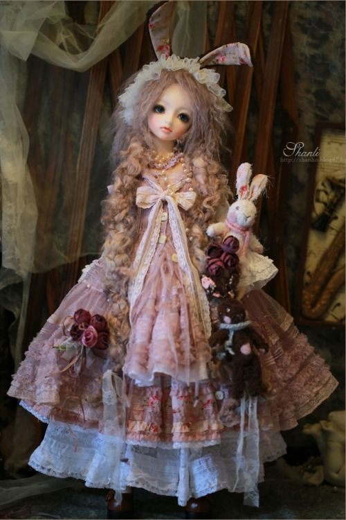 Outfit designed by Shanli, bjd