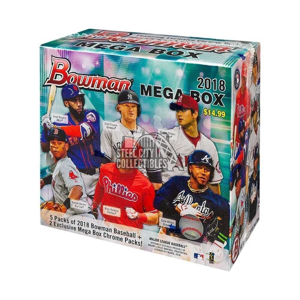 2018 Bowman Baseball Mega Box BaseballCards Bowman