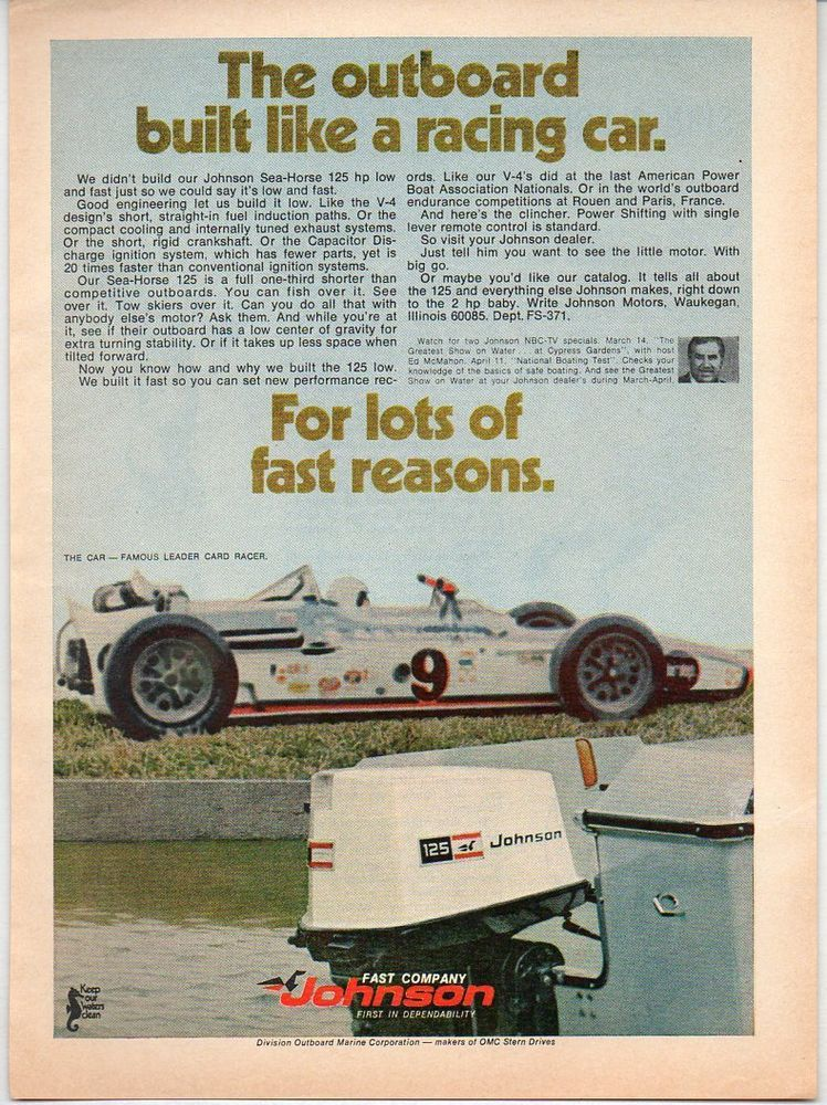 Daily Limit Exceeded Best Build Vintage Ads Outboard Motors