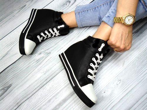Damen Sneaker Keilabsatz Stiefeletten Boots Booties Stiefel Hidden Wedges