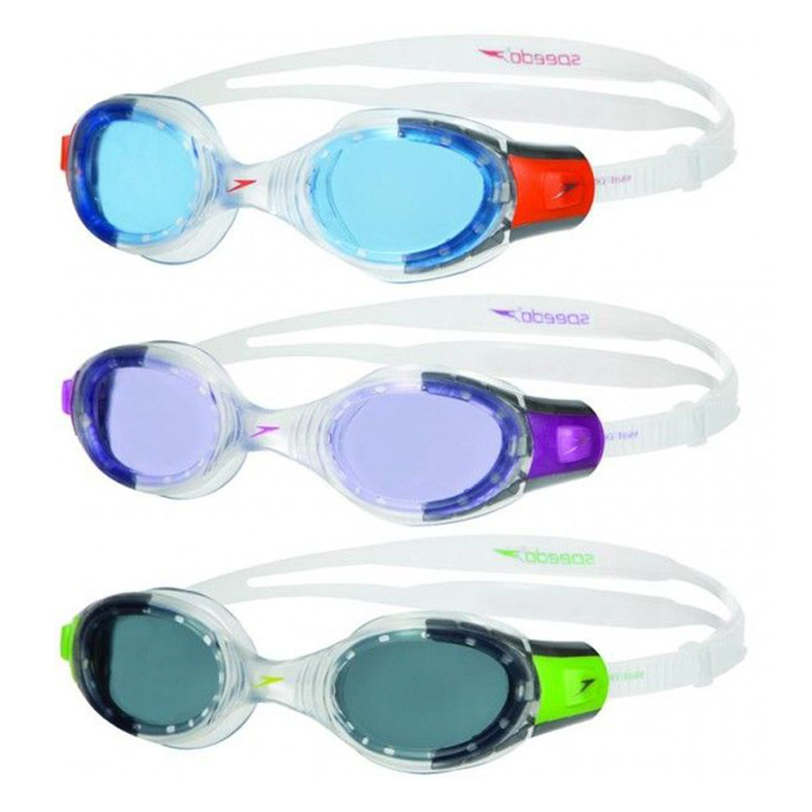 38d17b63ceb Speedo Futura Biofuse Junior Swimming Goggles Uv Protection Anti-Fog Age  6-14Yrs