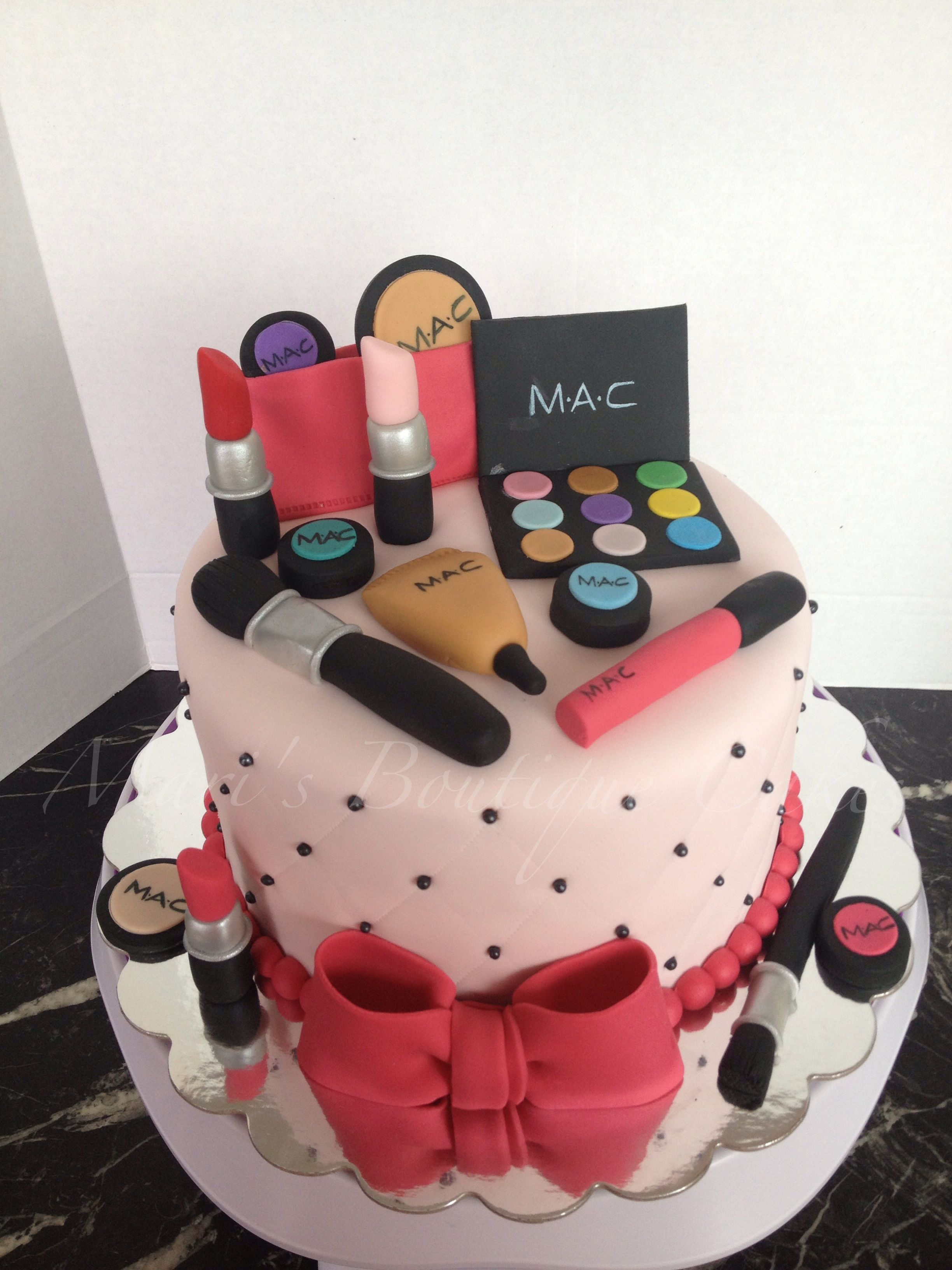 MAC Cosmetics Cake by Mari's Boutique Cakes Beauty