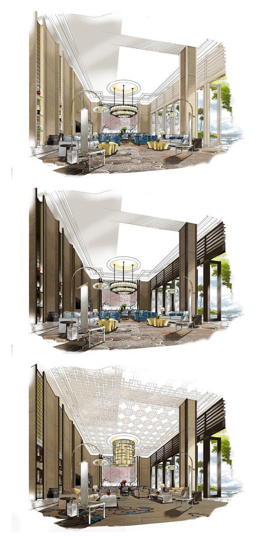 Process; 22handmade Freelance   U003cbr/u003e Interio   Interior  Sketches/architecture/landscape   Pinterest   Interiors, Sketches And  Interior Sketch